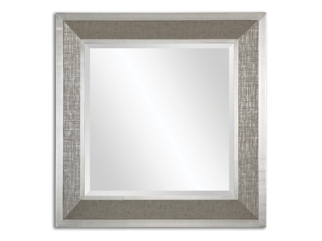 Uttermost MirrorsNaevius Metallic Square