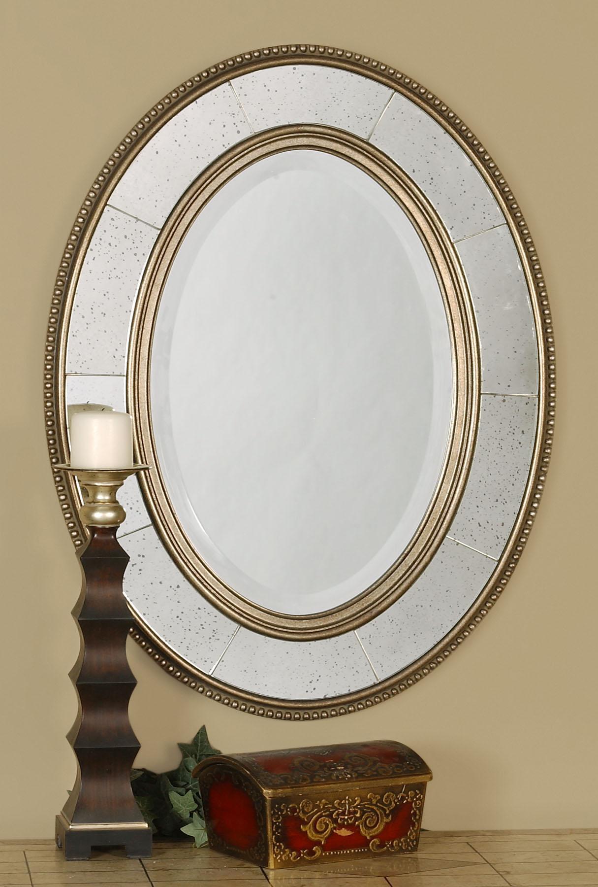 Uttermost Mirrors Lara Oval