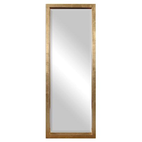 Uttermost Mirrors Edmonton Gold Leaner Mirror