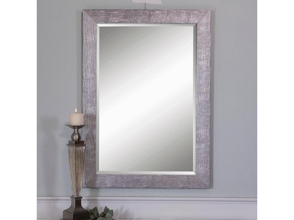 Uttermost MirrorsTarek Silver Mirror