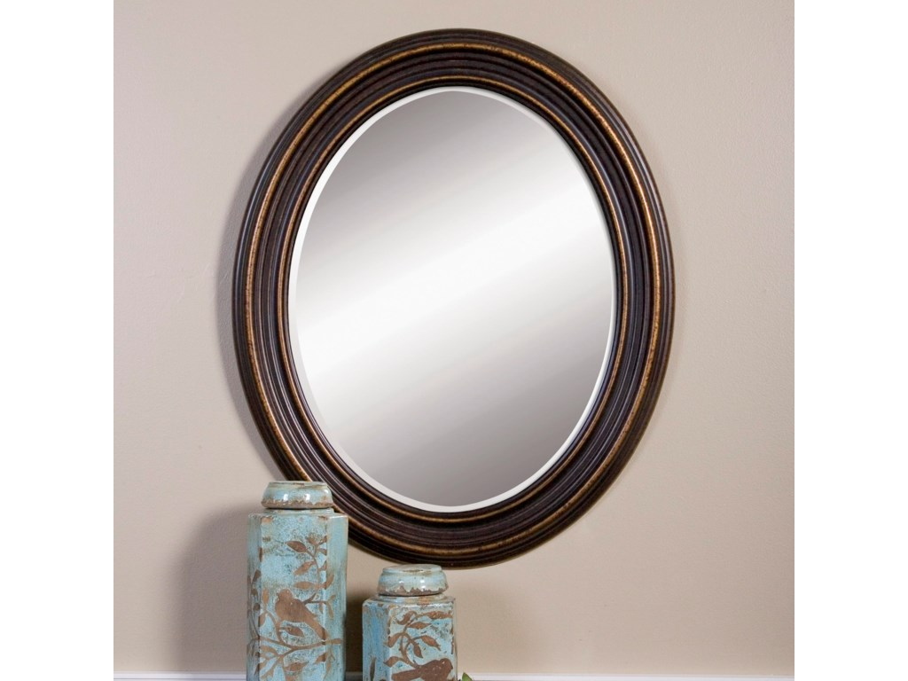 Uttermost Mirrors - OvalOvesca Oval Mirror