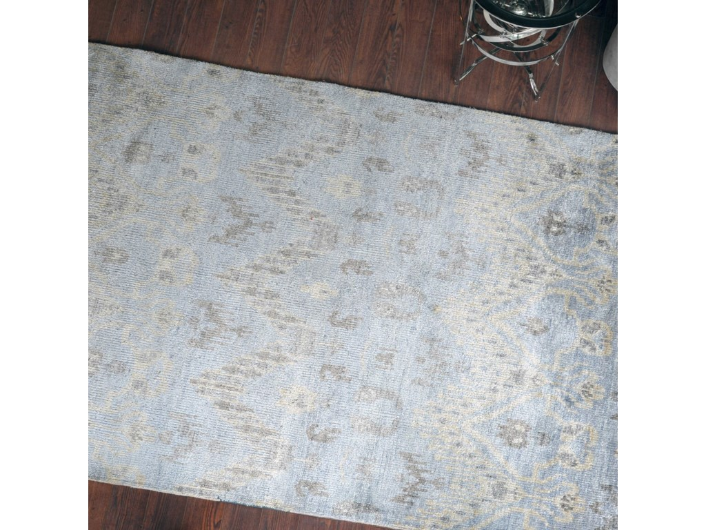 Uttermost RugsMadeira Pale Blue 6 x 9 Rug