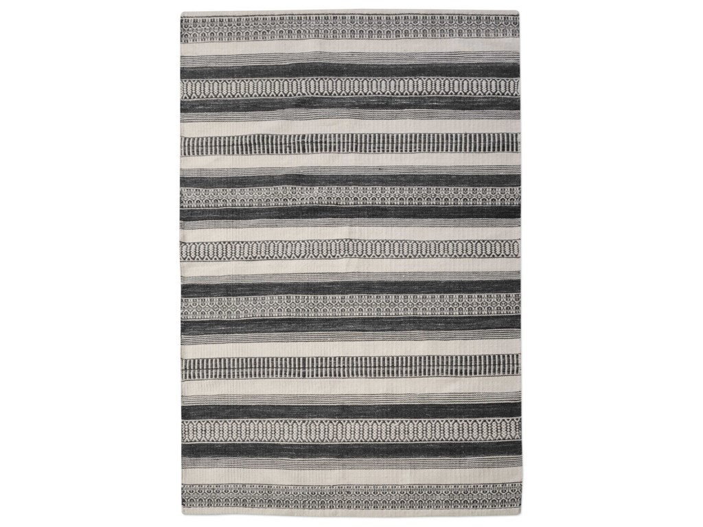 Uttermost RugsScottia Charcoal 9 x 12 Rug