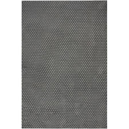 Lydus Dark Gray 9 x 12 Rug