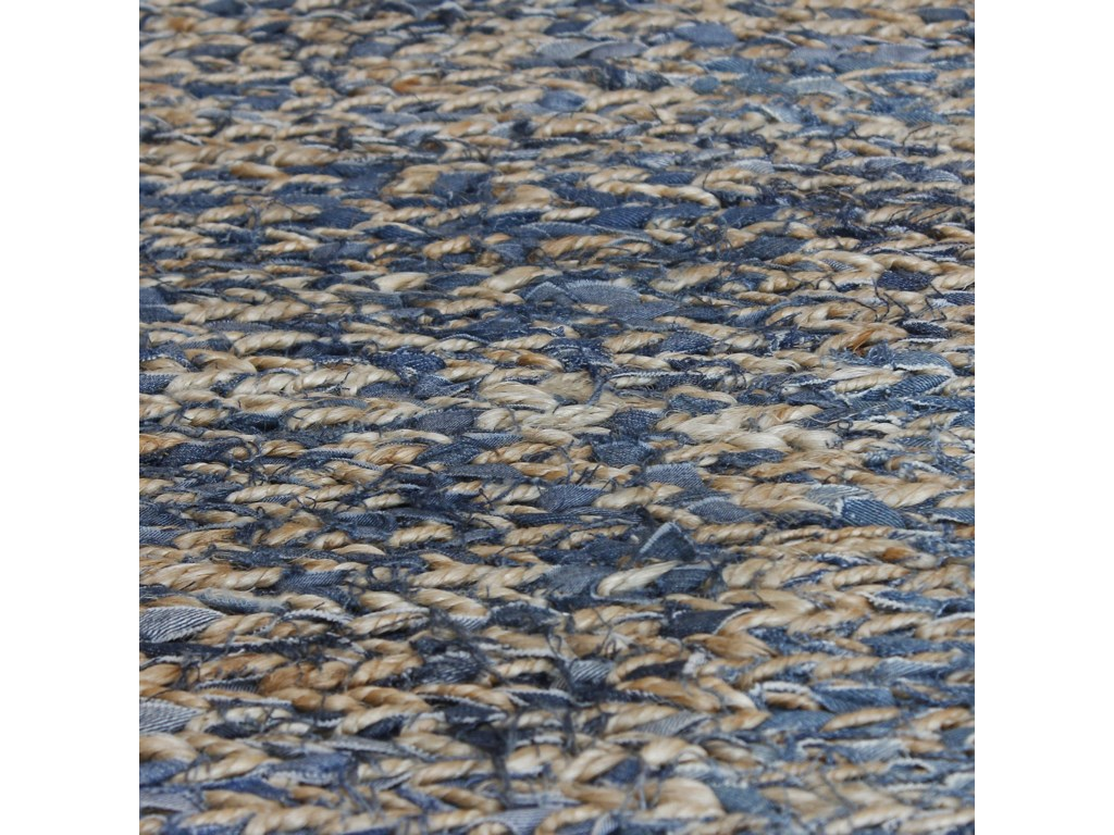 Uttermost RugsEuston Natural-Blue 9 x 12 Rug