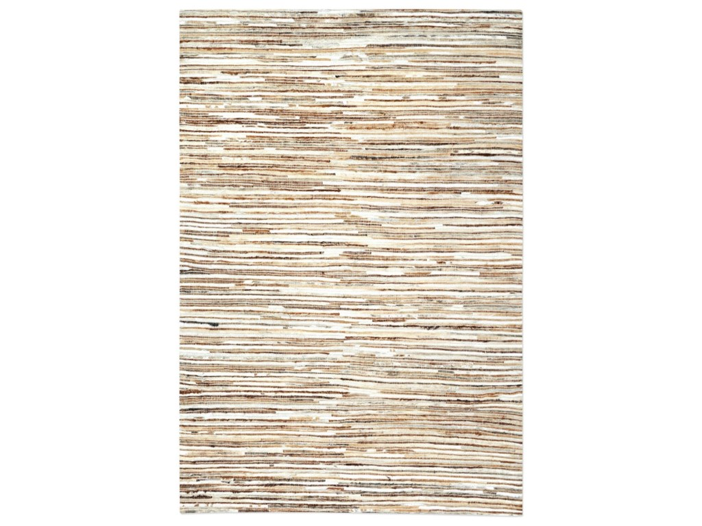 Uttermost RugsRiviera Ivory Brown 8 x 10 Rug
