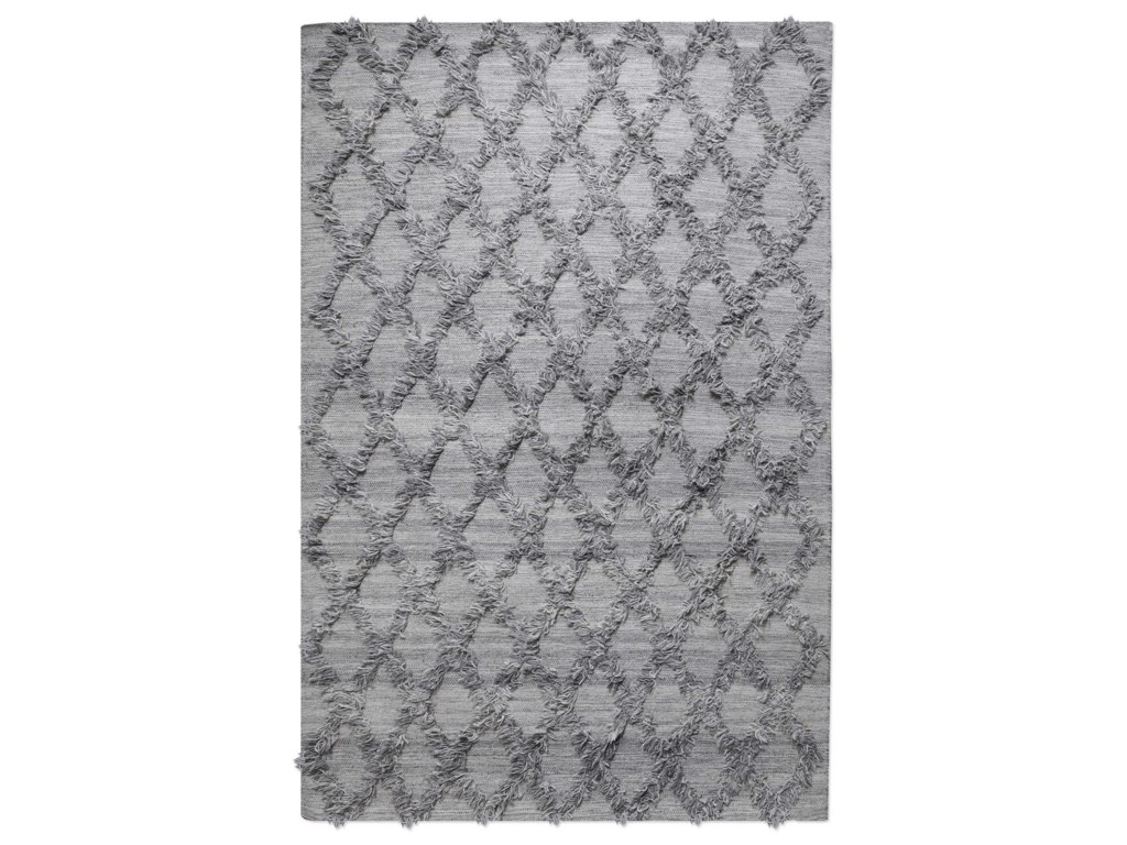 Uttermost Rugs Jucar Gray 8 X 10 Rug Suburban Furniture Rugs