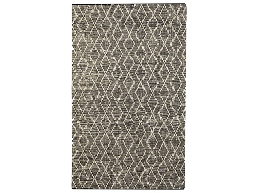 Uttermost RugsWinnow Leather 5 X 8 Rug