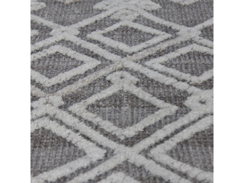 Uttermost RugsSieano Gray-Ivory 8 x 10 Rug