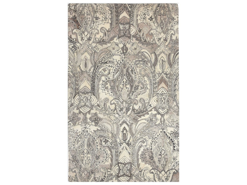 Uttermost RugsClairmont Natural 5 x 8 Rug