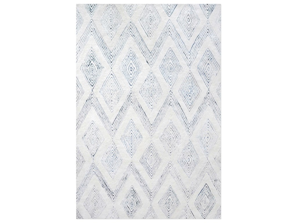 Uttermost RugsMarcus Ivory 5 x 8 Rug