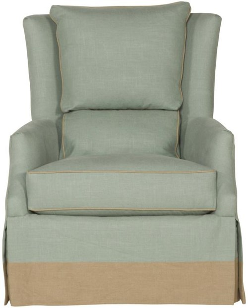 Vanguard Furniture Accent Chairs Transitional Wing Chair