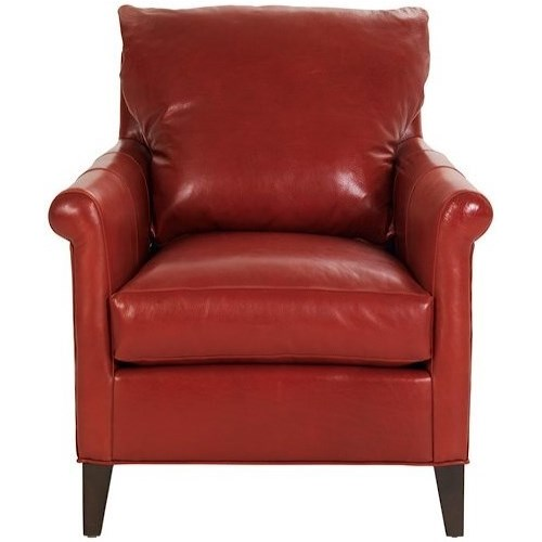 Vanguard Furniture Accent Chairs Gwynn Chair with Exposed Legs