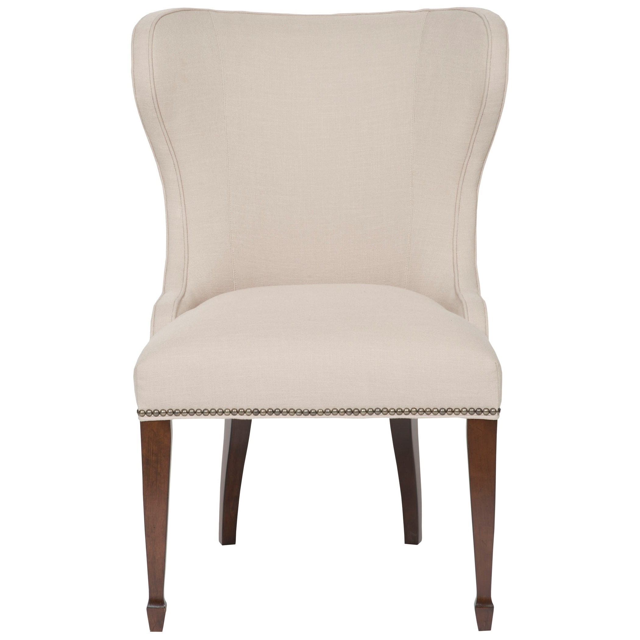 vanguard furniture accent chairs ava side chair with tall