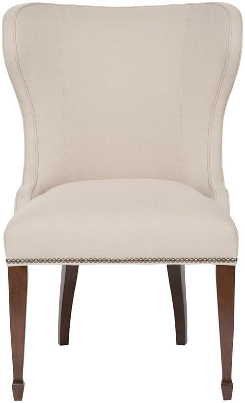 Vanguard Furniture Accent Chairs Ava Side Chair with Tall Legs