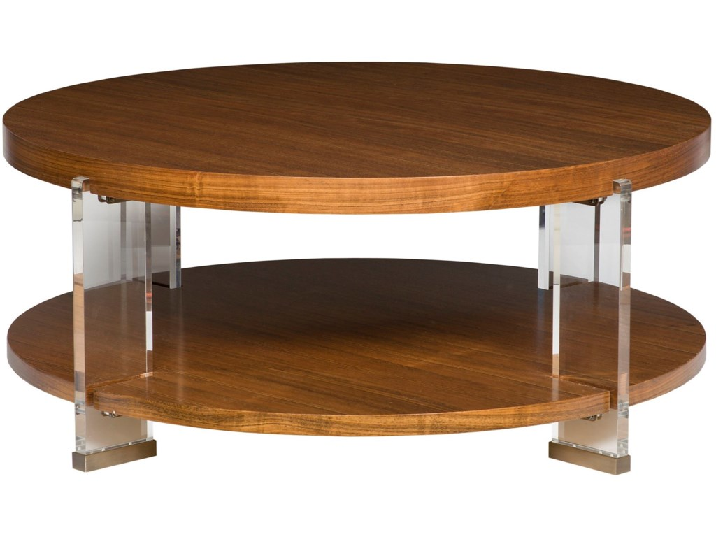 Vanguard Furniture Accent and Entertainment Chests and TablesDell Rey Round Cocktail Table