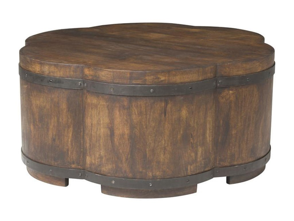 Vanguard Furniture Accent and Entertainment Chests and TablesSolstice Cocktail Ottoman