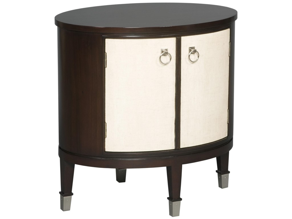 Vanguard Furniture Accent and Entertainment Chests and TablesMaclaine Oval End Table