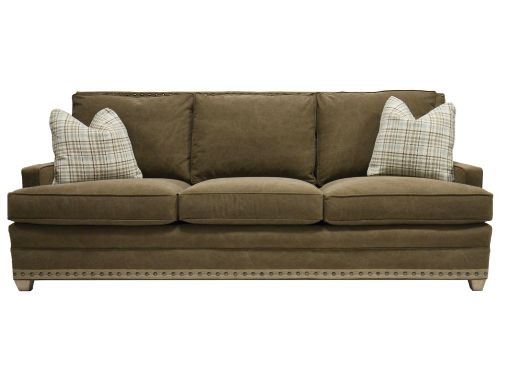 Vanguard Furniture American BungalowRiverside 3 Seat Sofa