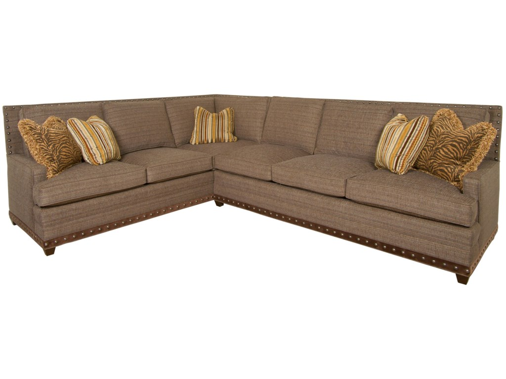Vanguard Furniture American Bungalowriverside Sectional Sofa