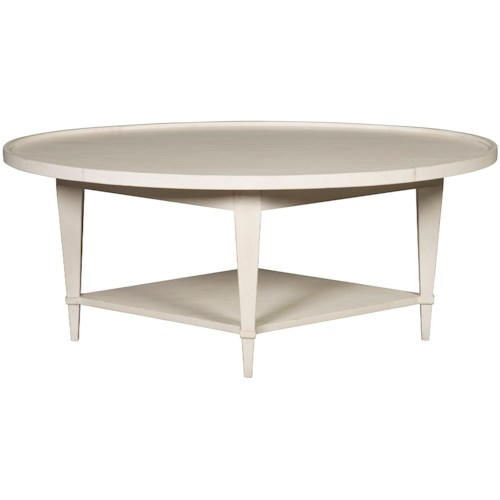 Vanguard Furniture Compendium Ares Cocktail Table with Shelf
