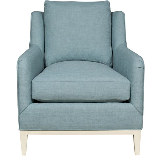 Vanguard Furniture Fisher Contemporary Chair with Tapered Feet