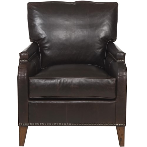 Vanguard Furniture Ginger Traditional Chair with Track Arms