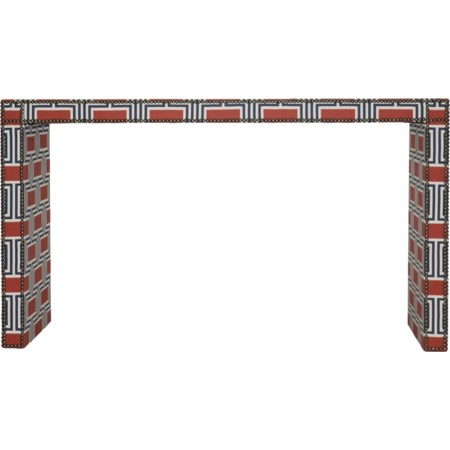 Upholstered Sofa Console Table