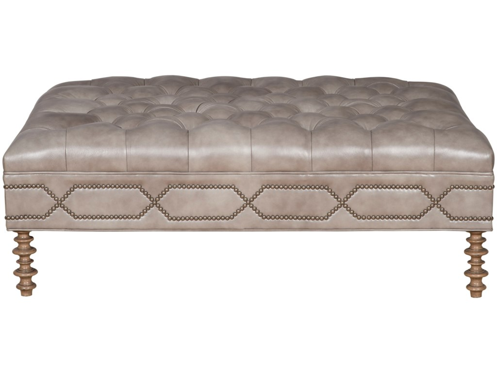 Vanguard Furniture Make It Yours OttomansCustomizable Cocktail Ottoman