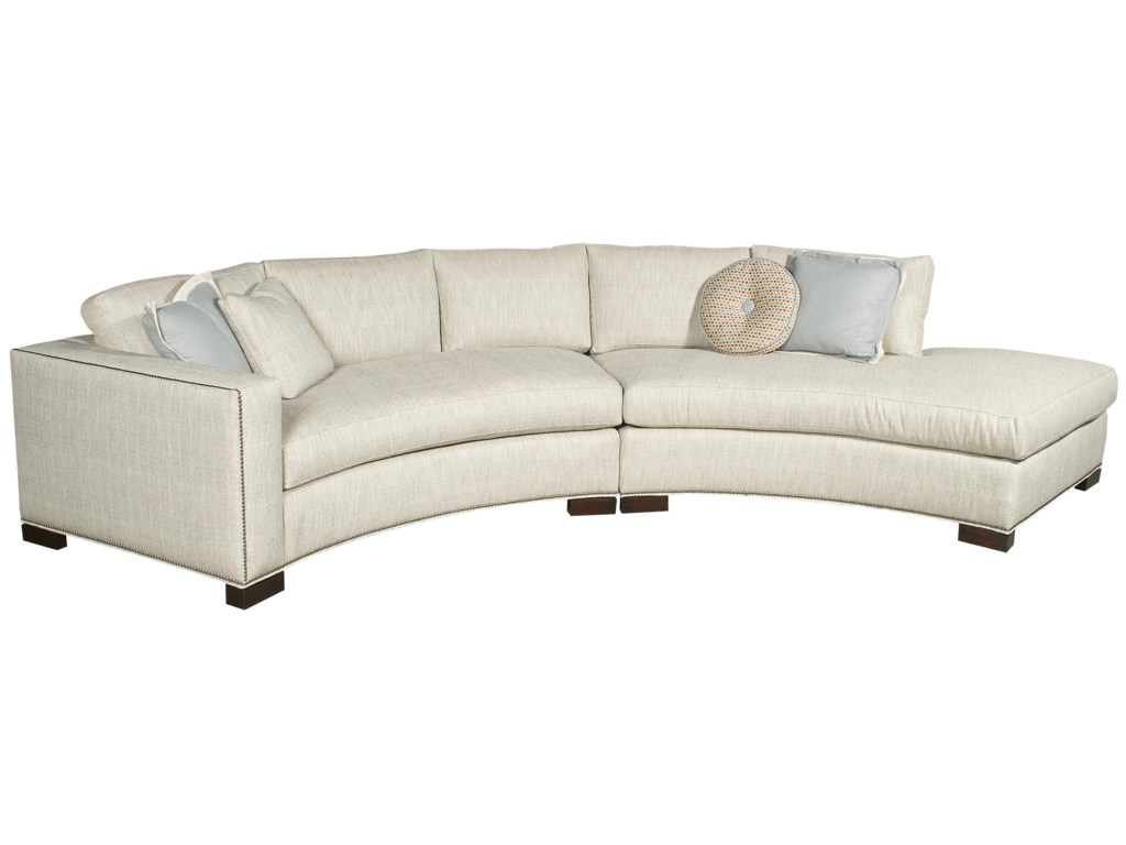 Vanguard Furniture Michael WeissBennett Sectional