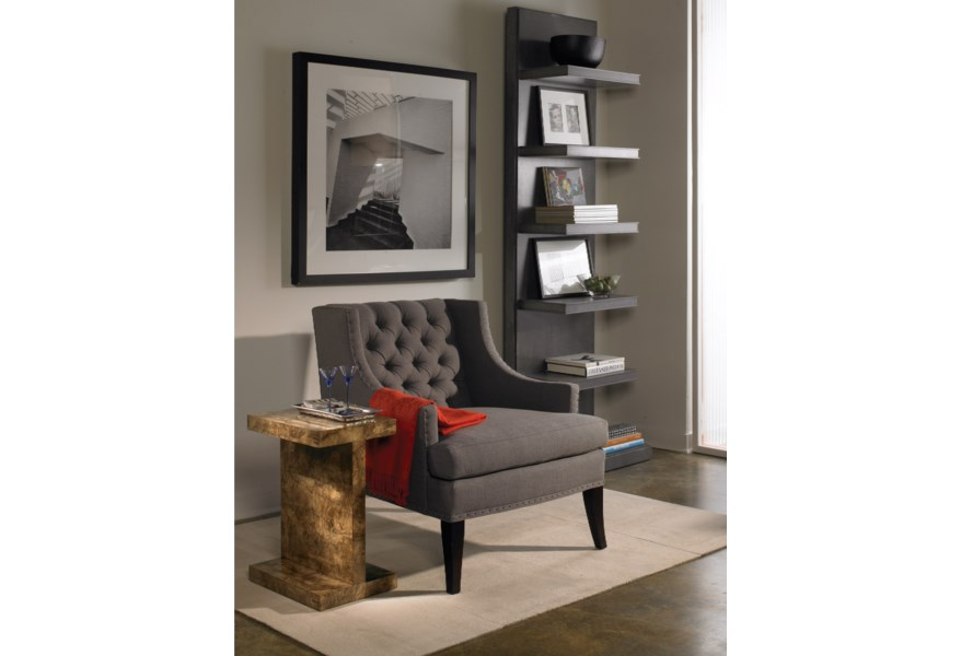 Vanguard Furniture Michael Weiss W328e Beckwith Chairside Table Baer S Furniture End Tables