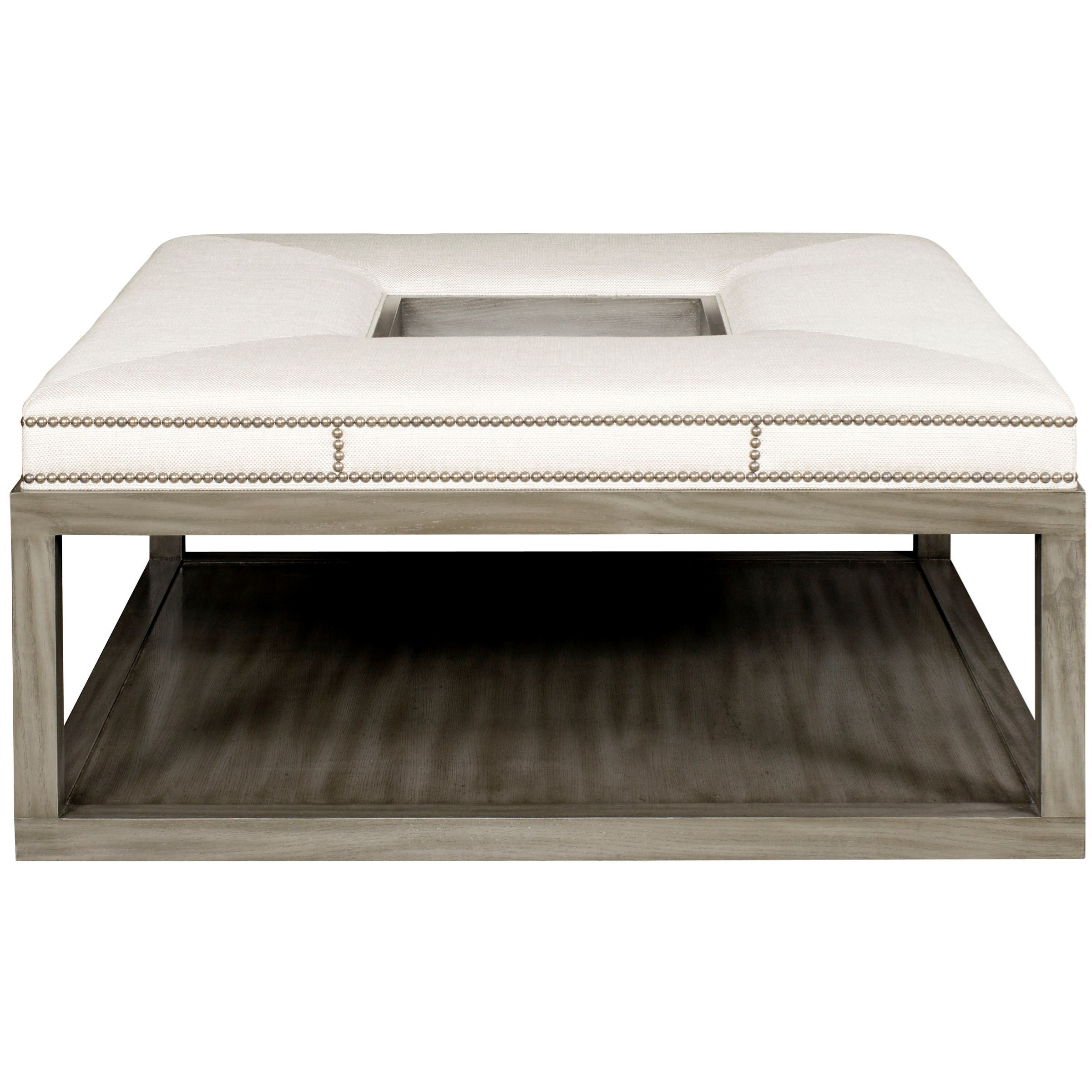 Genial Vanguard Furniture Michael WeissWayland Square Wood Ottoman ...
