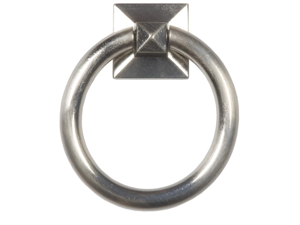 Optional Polished Silver Ring Pull on Back
