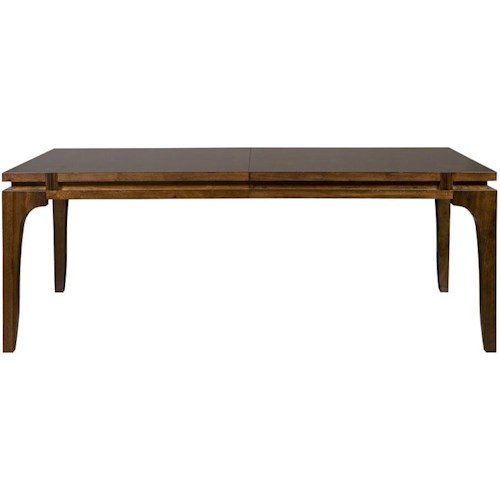 Vanguard Furniture Thom Filicia Home Collection Hogue Lane Contemporary Dining Table with Leaves