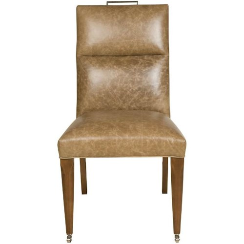 Vanguard Furniture Thom Filicia Home Collection Brattle Road Contemporary Upholstered Dining Side Chair