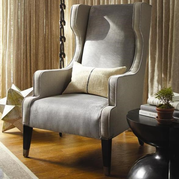 Vanguard Furniture Thom Filicia Home CollectionWing Chair ...
