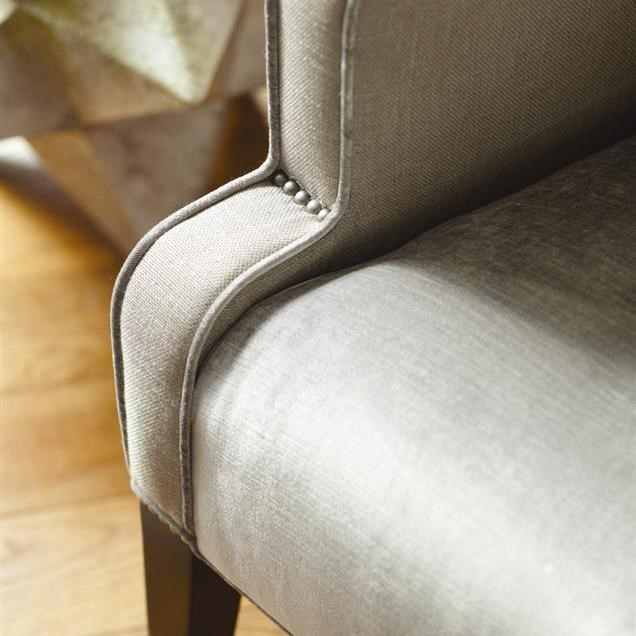 chairs vanguard furniture thom filicia home collection wing chair nail head detail