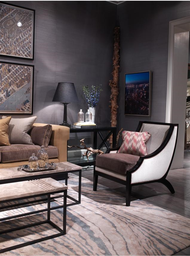 ... Vanguard Furniture Thom Filicia Home CollectionChair