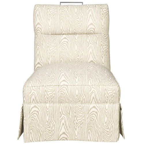 Vanguard Furniture Thom Filicia Home Collection Transitional Brattel Road Armless CHair
