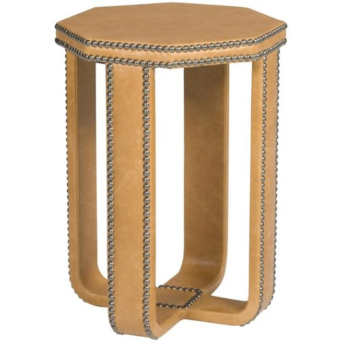 Vanguard Furniture Thom Filicia Home Collection Transitional Eastwood Upholstered Spot Table