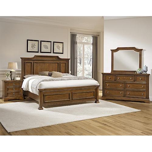 Vaughan Bassett Affinity King Bedroom Group