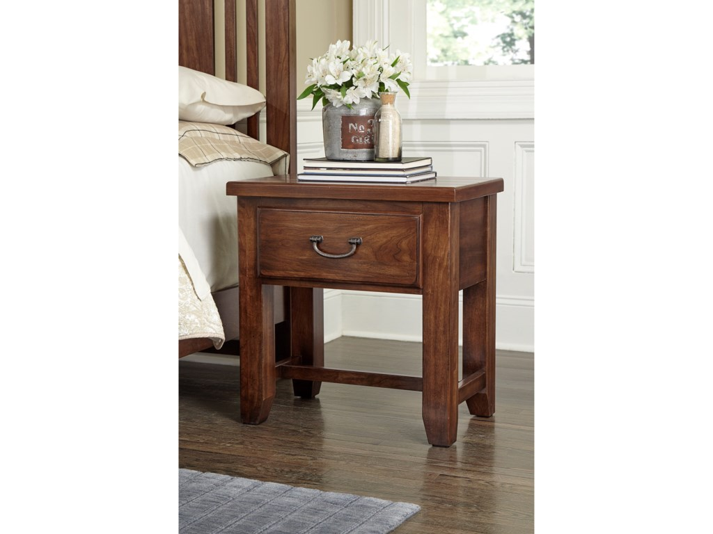 Vaughan Bassett American CherryNight Table - 1 Drawer