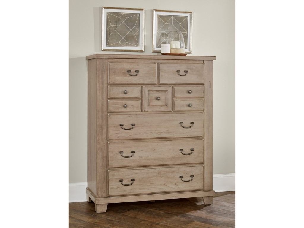 Vaughan Bassett American CherryGentleman's Chest - 8 Drawers