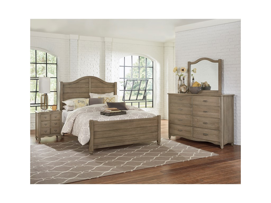 Vaughan Bassett American MapleFull Bedroom Group