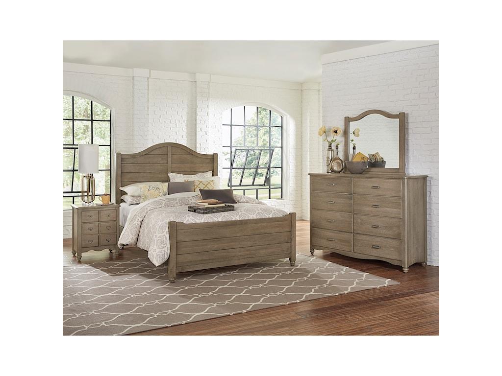Vaughan Bassett American MapleTwin Bedroom Group