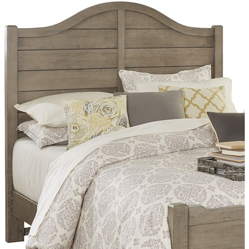 Vaughan Bassett American Maple Solid Wood Queen Shiplap Headboard