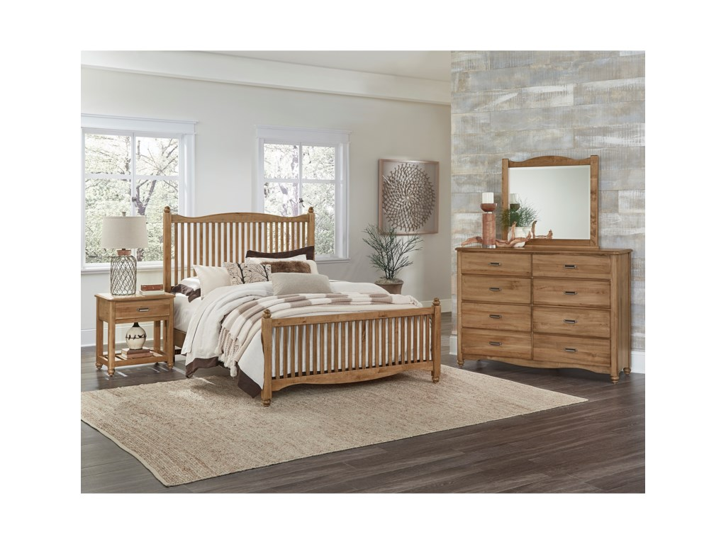 hills bedroom products american bassett king number great vaughan item rustic k group