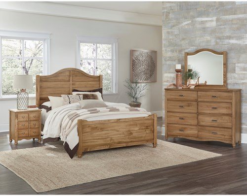Vaughan Bassett American Maple Queen Bedroom Group | Pilgrim ...
