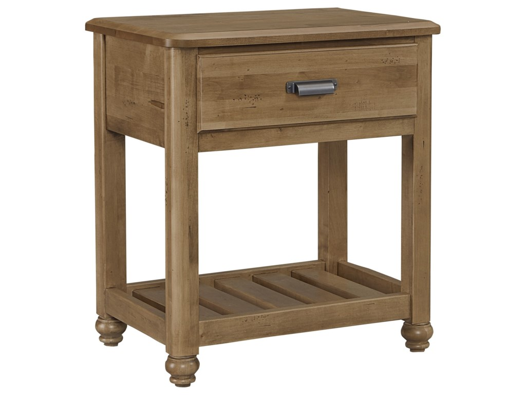 Vaughan Bassett American MapleNight Table - 1 Drawer