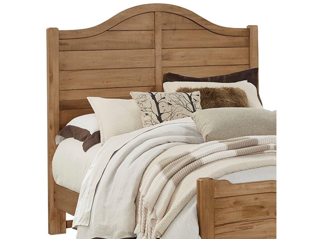Vaughan Bassett Maple EscapeQueen Shiplap Headboard